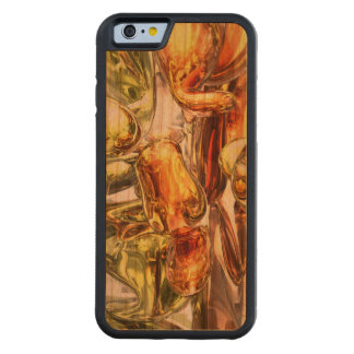 Tangerine Rapture Abstract Carved® Cherry iPhone 6 Bumper