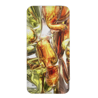 Tangerine Rapture Abstract iPhone SE/5/5s/5c Pouch