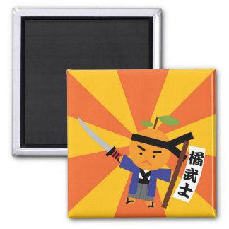 Tangerine Samurai Magnet