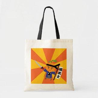 Tangerine Samurai Reusable Bag