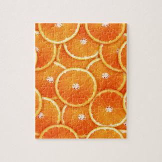 Tangerine slices jigsaw puzzle