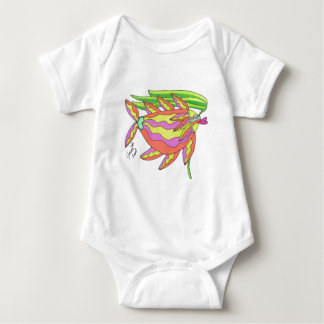 Tangerine, Strawberry, and Lime Baby Bodysuit
