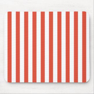 Tangerine stripe MousePad