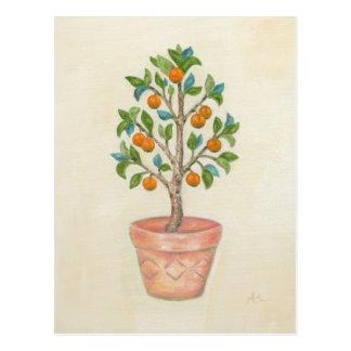 Tangerine Tree postcard