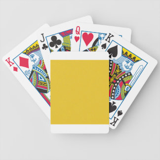 Tangerine Yellow Star Dust Bicycle Playing Cards