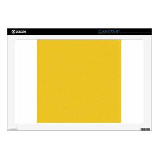 Tangerine Yellow Star Dust Laptop Skins