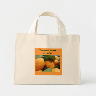 Tangerines Mini Tote Bag