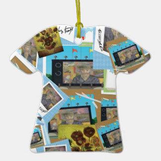 tangi pop Double-Sided T-Shirt ceramic christmas ornament