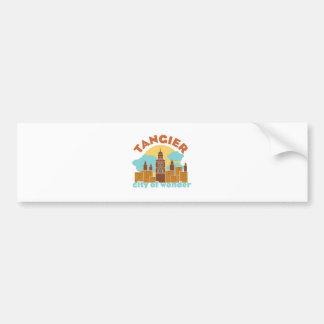Tangier City Of Wonder Bumper Sticker