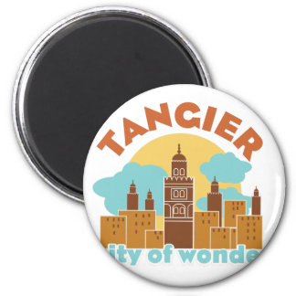 Tangier City Of Wonder Magnet
