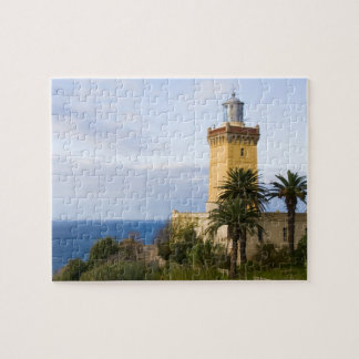 Tangier Morocco lighthouse at Cap Spartel Jigsaw Puzzle