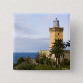 Tangier Morocco lighthouse at Cap Spartel Pinback Button