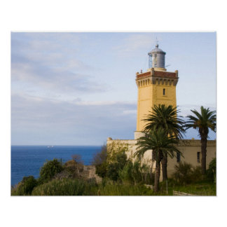 Tangier Morocco lighthouse at Cap Spartel Print