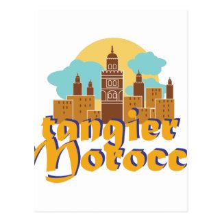 Tangier Morocco Postcard