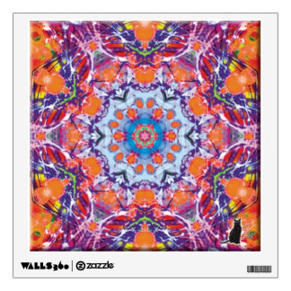 Tangiers Kaleidoscope Wall Sticker
