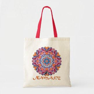 Tangiers Namaste Kaleidoscope Budget Tote Bag