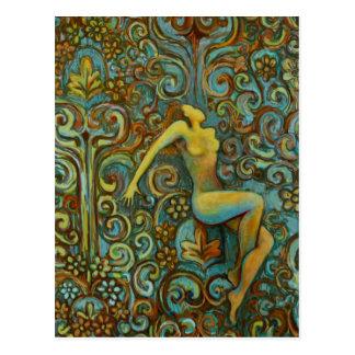 Tangle, Female Figure Art Products Postcard
