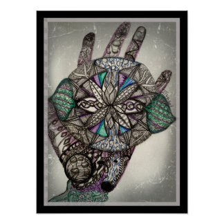 Tangle in Hand Poster
