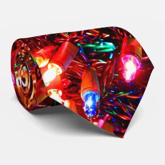Tangle Lights II Christmas Neck Tie