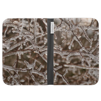 Tangle of Icy Branches Cases For Kindle