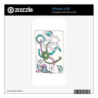 tangle swimming decal for the iPhone 4S