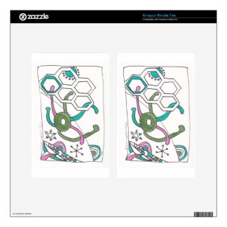 tangle swimming decals for kindle fire