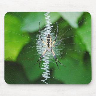 Tangle Web Mouse Pad