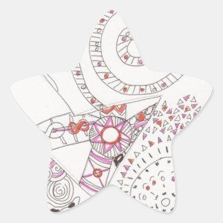 tangled alien alphabet letter stickers