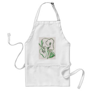 tangled bacterial mat adult apron