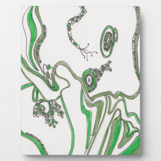 tangled bacterial mat plaque