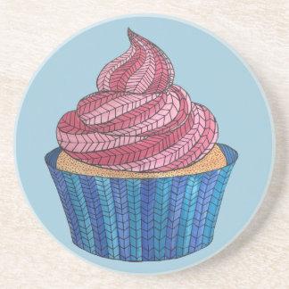 Tangled Cupcake Coaster