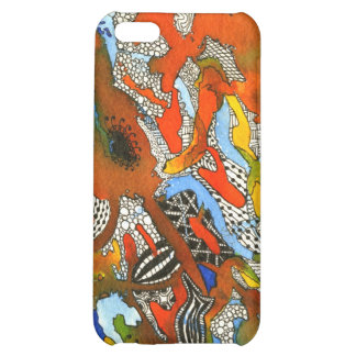 Tangled Cyber Bugs iPhone 4 Case