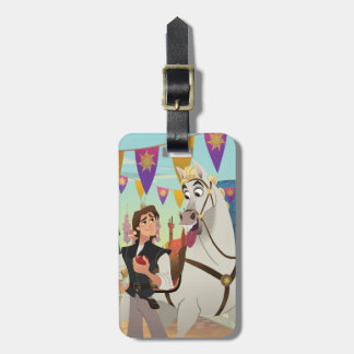 Tangled | Eugene & Maximus Luggage Tag