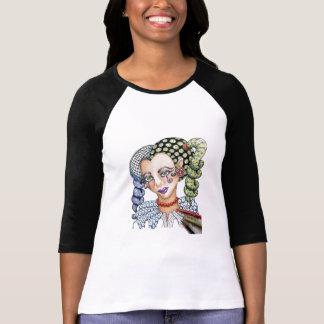 Tangled Fashionista Baseball Shirt