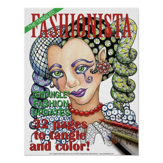 Tangled Fashionista cover poster