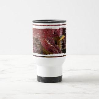 Tangled Flora; 2012 Calendar Travel Mug
