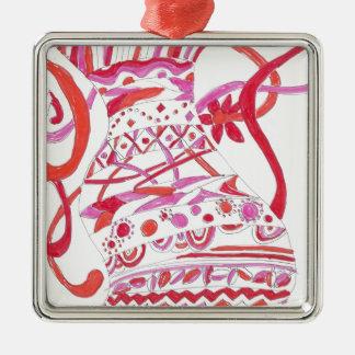 tangled garment metal ornament