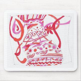 tangled garment mouse pad