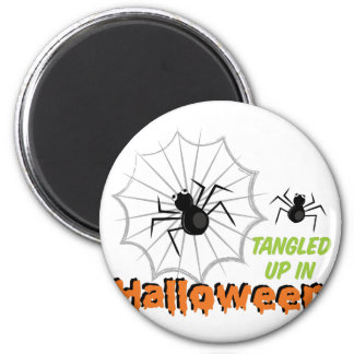 Tangled Halloween 2 Inch Round Magnet