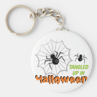 Tangled Halloween Keychain