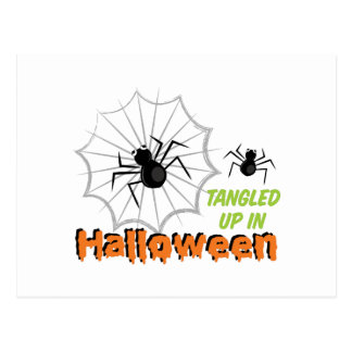 Tangled Halloween Postcard