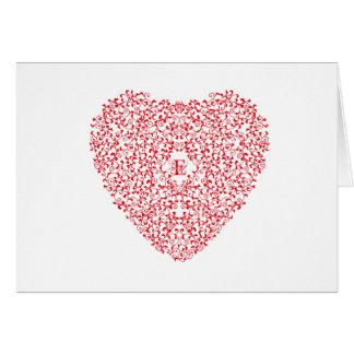 Tangled Heart Card