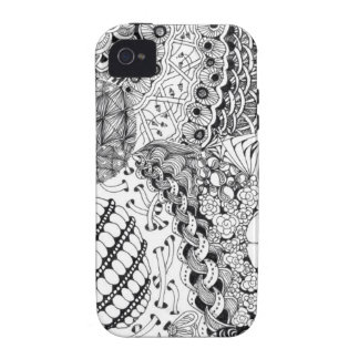 Tangled Laces Case-Mate iPhone 4 Case