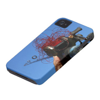 Tangled Lines iPhone 4 Cover
