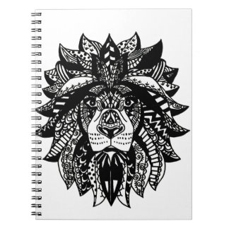 Tangled Lion Notebook