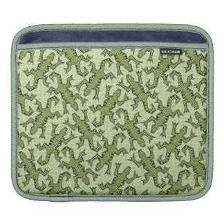 Tangled Lizards Horizontal Sleeve For iPads