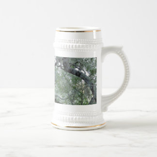 Tangled Oak Trees in Paso Robles, California Beer Stein