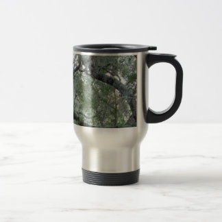 Tangled Oak Trees in Paso Robles, California Travel Mug