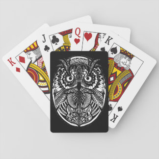 Tangled Owl Classic Playing Cards