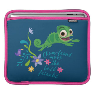Tangled | Pascal - Chameleons Make the Best Friend Sleeve For iPads
